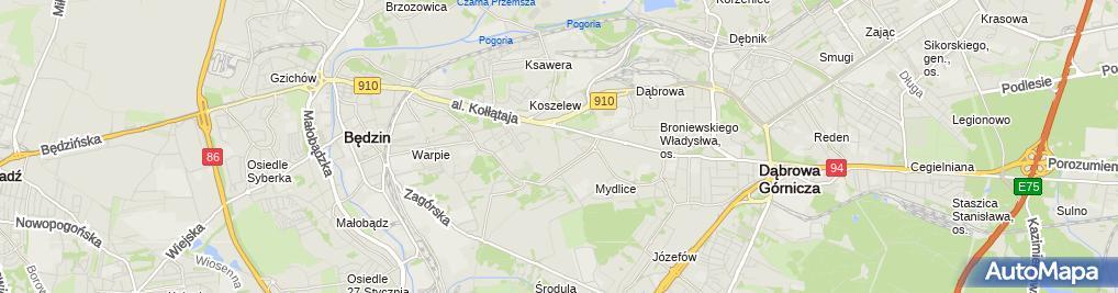 Zdjęcie satelitarne Gospodarstwo Ogrodnicze Małgorzata Latko