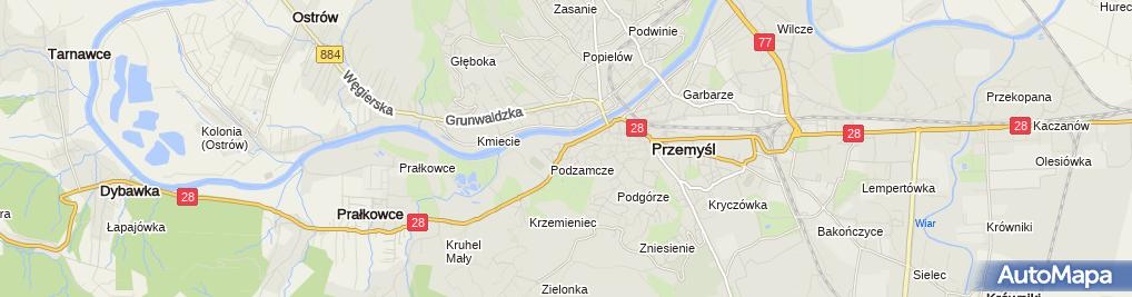 Zdjęcie satelitarne Gospodarstwo Rolne Czesław Tyliński