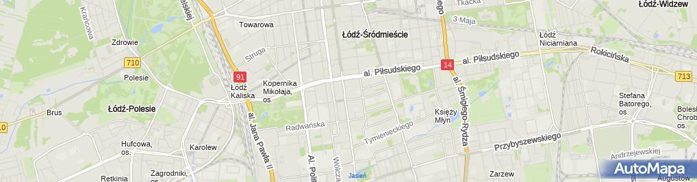 Zdjęcie satelitarne Gospodarstwo Rolne Jacek Kotyło