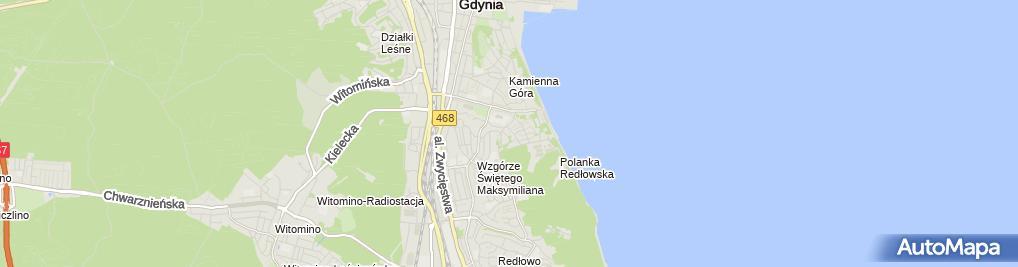 Zdjęcie satelitarne Gospodarstwo Rolne Jadwiga i Marek Machel