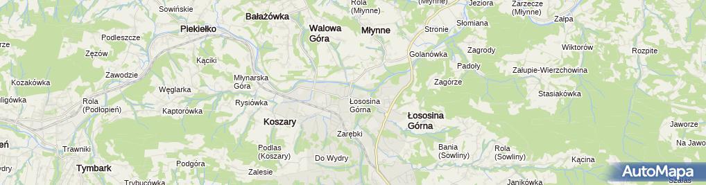 Zdjęcie satelitarne Gospodarstwo Rolne