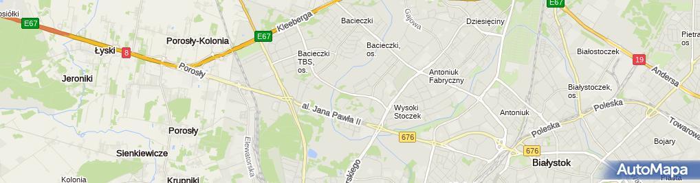 Zdjęcie satelitarne GPS Geodezja Paweł Szymczyk