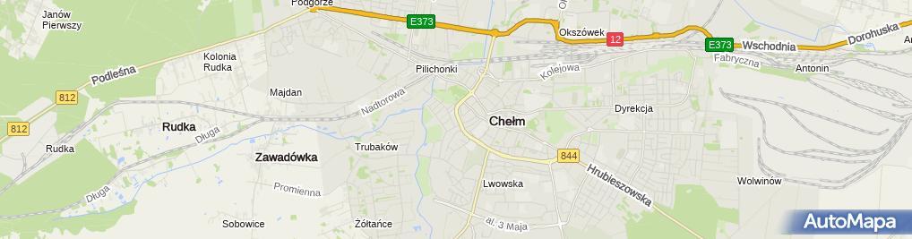 Zdjęcie satelitarne Grabowska Małgorzata