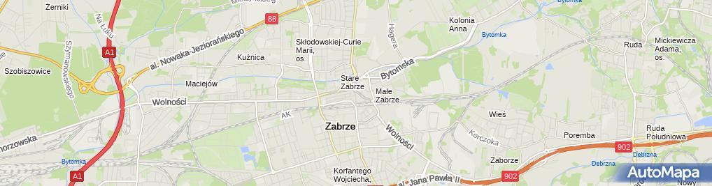 Zdjęcie satelitarne Graf Arko Połajdowicz Paweł Stańczyk Brunon Oleszczuk Wojciech