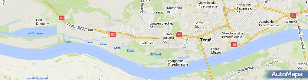 Zdjęcie satelitarne Grajkowski Sławomir Spomaż Mąż Lub Kawaler do Wynajęcia Zakład Usługowy