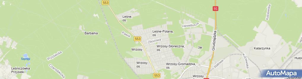 Zdjęcie satelitarne Graktiva Consulting