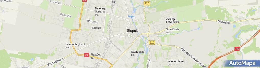 Zdjęcie satelitarne Grażyna Polańska-Wojczak: Bibritish Institute, House Broker Nieruchomości, Sukces-Agencja Usług Finansowych