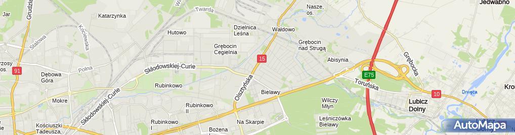 Zdjęcie satelitarne Grodzicki Jarosław Makrosat