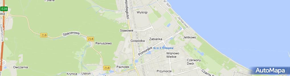 Zdjęcie satelitarne Grosz M Zieńkowicz S Zieńkowicz