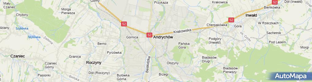 Zdjęcie satelitarne Grupa Finansowa Geld Cywilna Mirosław Mydlarz Marek Widlarz