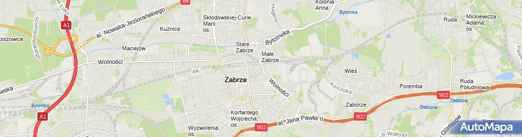 Zdjęcie satelitarne GrupaSector.pl