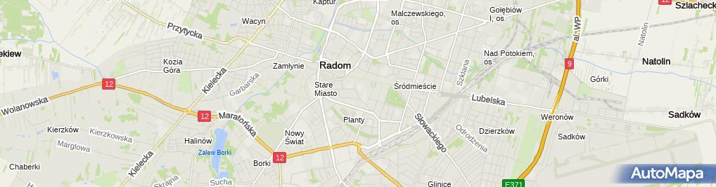 Zdjęcie satelitarne Grupowa Praktyka Pielęgniarek Junior