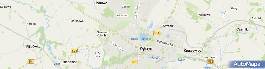 Zdjęcie satelitarne Grupowa Praktyka Pielęgniarska Medycyna Szkolna Krystyna Sawa Zofia Emiljanowicz Maria Sowińska Teresa Sztejter Grażyna Szymańska Wanda Urbańska