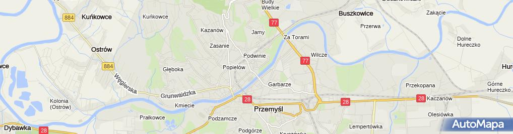 Zdjęcie satelitarne Grzegorz Buszkiewicz Firma Handlowo-Usługowa Perfect Gaz