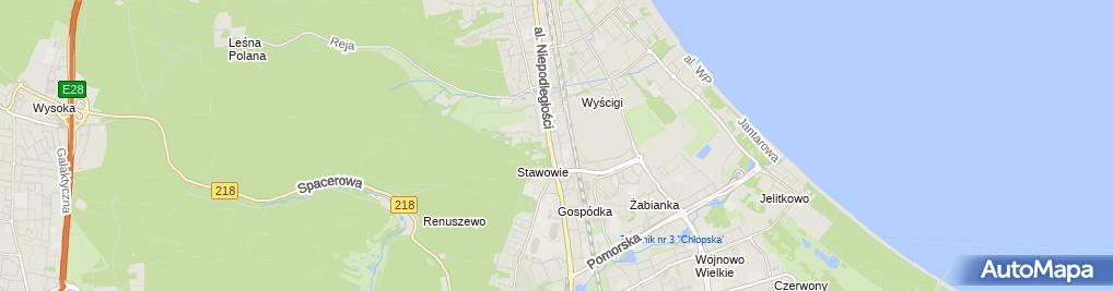 Zdjęcie satelitarne Grzegorz Cerkaski - Tei-Technics Export Import Grzegorz Cerkaski, Agnieszka Cerkaska