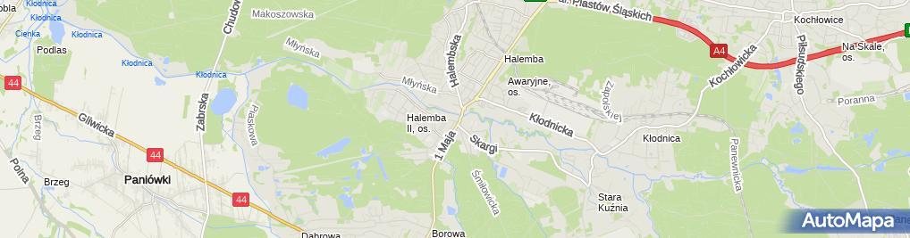 Zdjęcie satelitarne Grzegorz Kołodziej - Działalność Gospodarcza