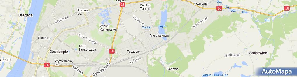 Zdjęcie satelitarne Grzegorz Siedlecki