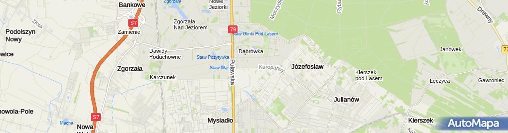 Zdjęcie satelitarne GV Polska