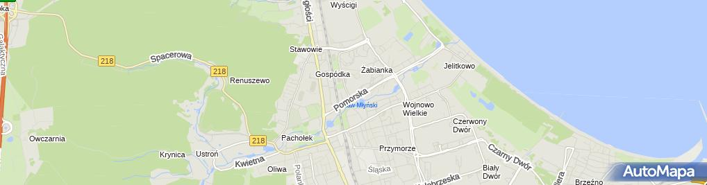 Zdjęcie satelitarne Halza