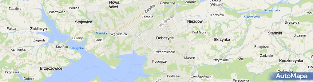 Zdjęcie satelitarne Handel Art Chemiczno Kosmetycznymi Czesław Janeczek