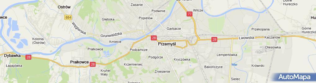 Zdjęcie satelitarne Handel Art.Przemysłowymi i Spożywczymi Krzysztof Hajduk
