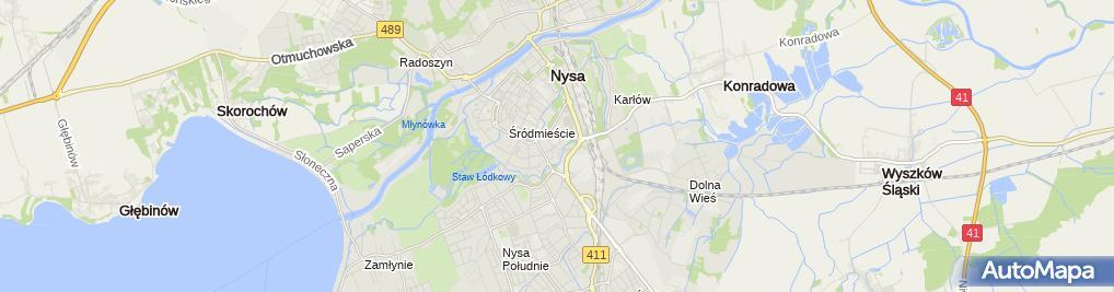 Zdjęcie satelitarne Handel Detaliczny Branży Przemysłowej Kiosk nr 50