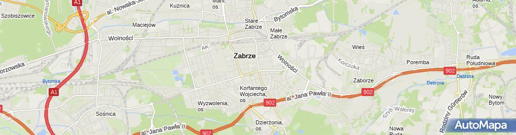 Zdjęcie satelitarne Handel Hurtowy i Detaliczny Janusz Gajewski