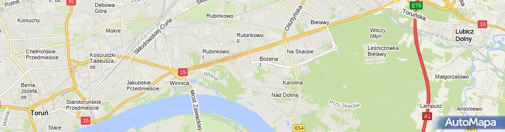 Zdjęcie satelitarne Handel Obwoźny Cały Kraj