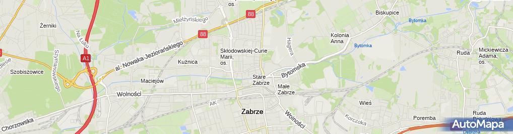 Zdjęcie satelitarne Handel Obwoźny Roxi Handel