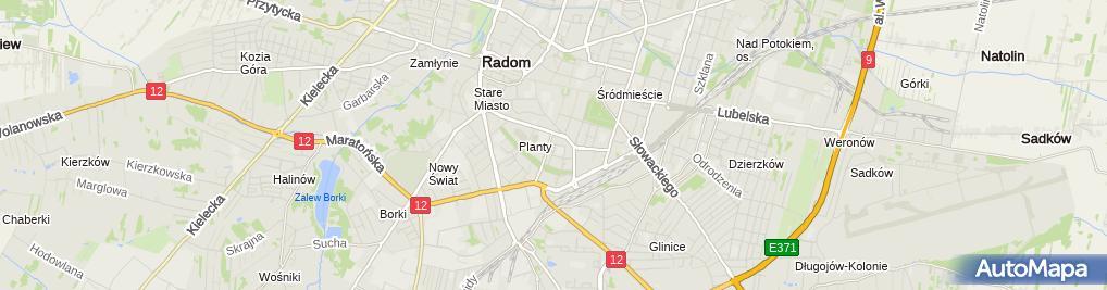 Zdjęcie satelitarne Handel Okrężny