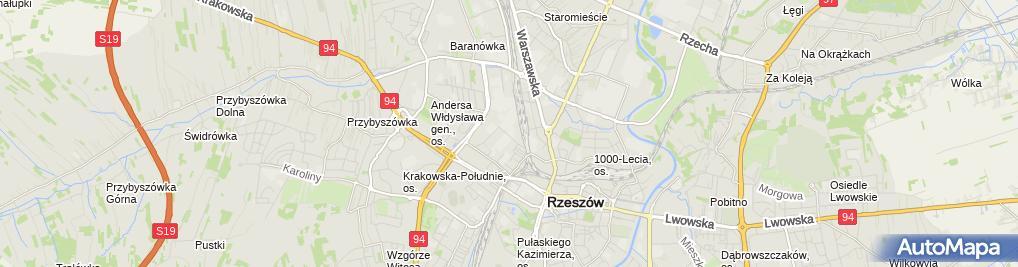 Zdjęcie satelitarne Handel Opałem i Skup Złomu Kazimierz Pokrywa