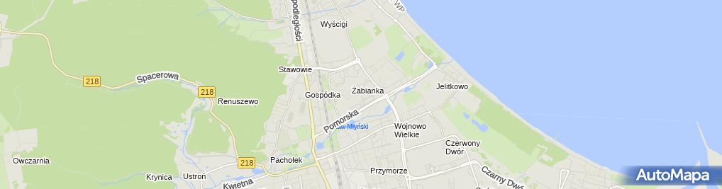 Zdjęcie satelitarne Hanna Witczak - Działalność Gospodarcza