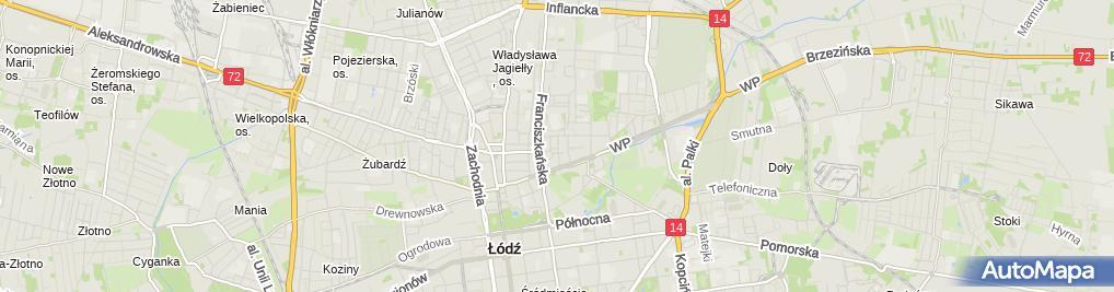 Zdjęcie satelitarne Hipovet Laboratorium P Cyrankowski K Zielińska