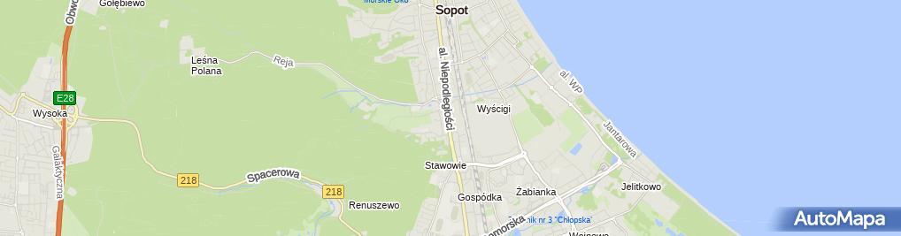 Zdjęcie satelitarne Hryszkiewicz Team
