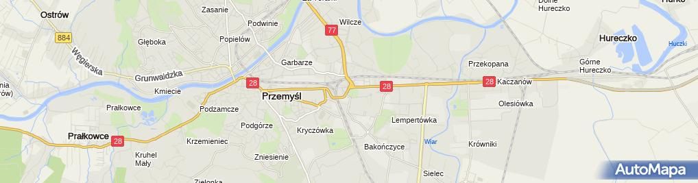 Zdjęcie satelitarne Hurtownia Artykułów Motoryzacyjnych Artmot