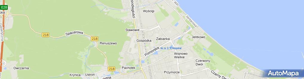 Zdjęcie satelitarne Hurtownia Farmaceutyczna pod Eskulapem Ligier Witold i Społka