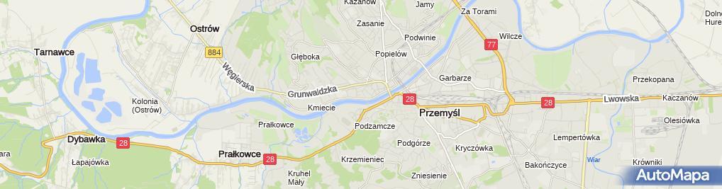 Zdjęcie satelitarne Hurtownia Piwa Wina i Napojów