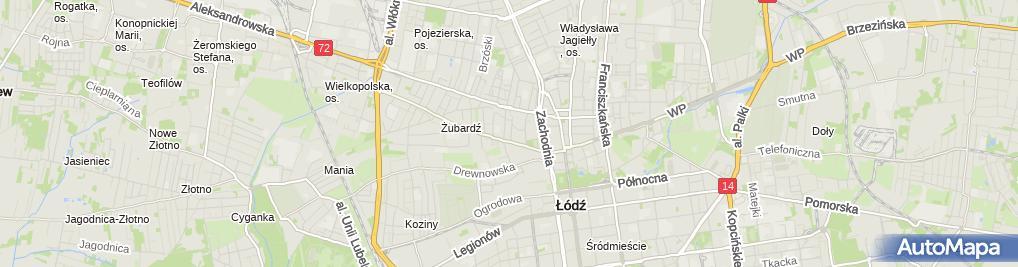 Zdjęcie satelitarne i Tu i Tumałgorzata Poros