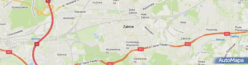 Zdjęcie satelitarne icube.pl