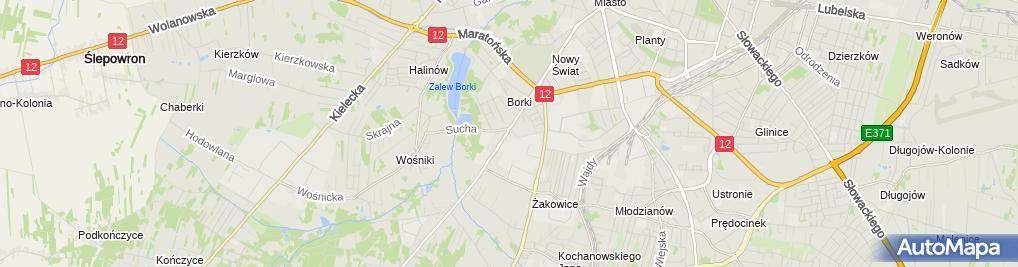 Zdjęcie satelitarne Ilona Stachera - Działalność Gospodarcza