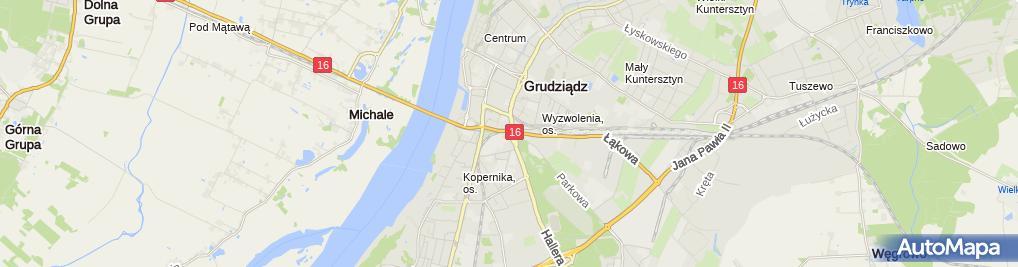 Zdjęcie satelitarne Impet Sp. z o.o.
