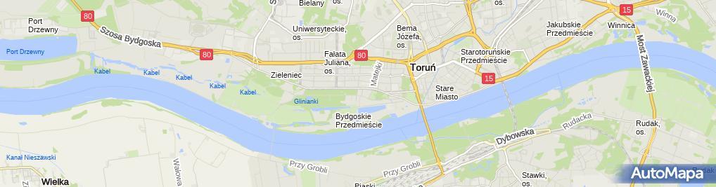 Zdjęcie satelitarne Indywidualna Praktyka Lekarska Martyna Stankiewicz