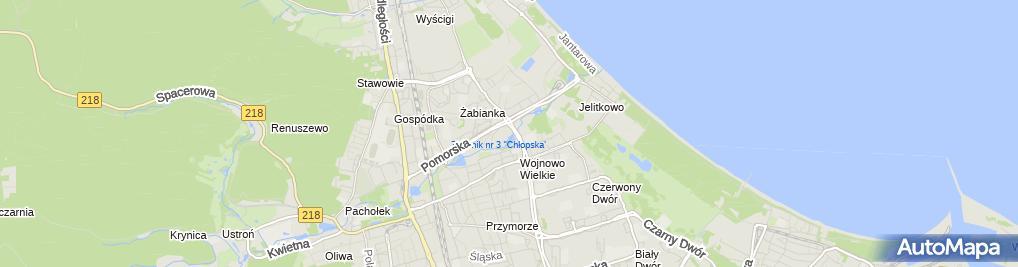 Zdjęcie satelitarne Indywidualna Praktyka Lekarska w Miejscu Wezwania
