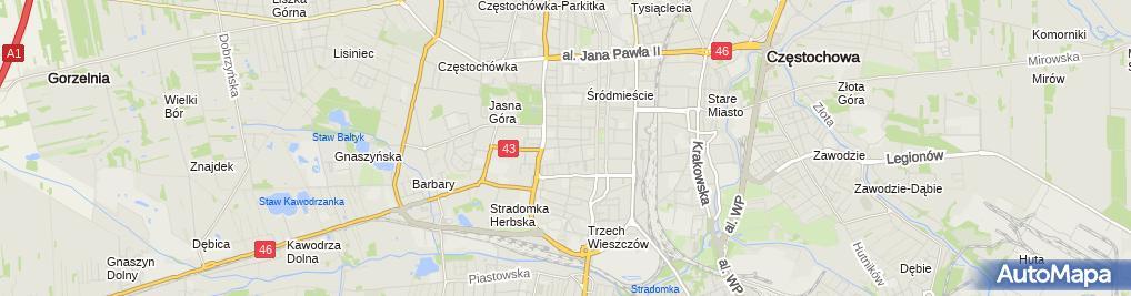 Zdjęcie satelitarne Indywidualna Praktyka Lekarska