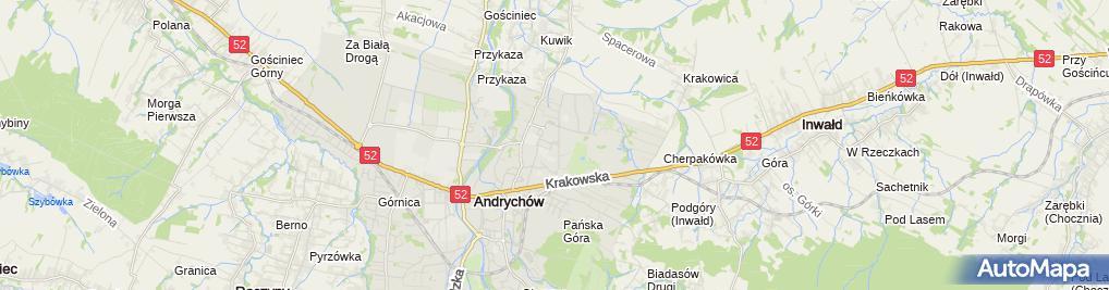 Zdjęcie satelitarne Indywidualna Praktyka Lekarsk