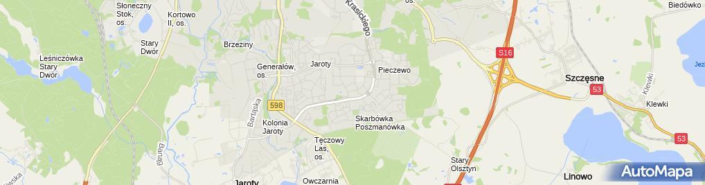 Zdjęcie satelitarne Indywidualna Praktyka Pielęgniarska