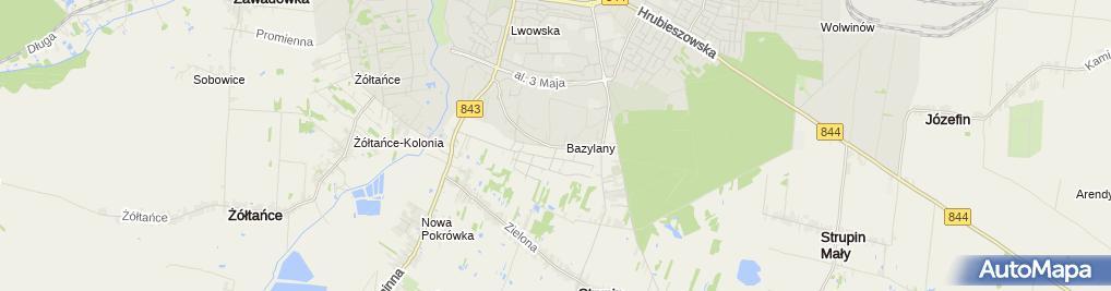 Zdjęcie satelitarne Indywidualna Specjalistyczna Praktyka Lekarska w Miejscu Wezwania