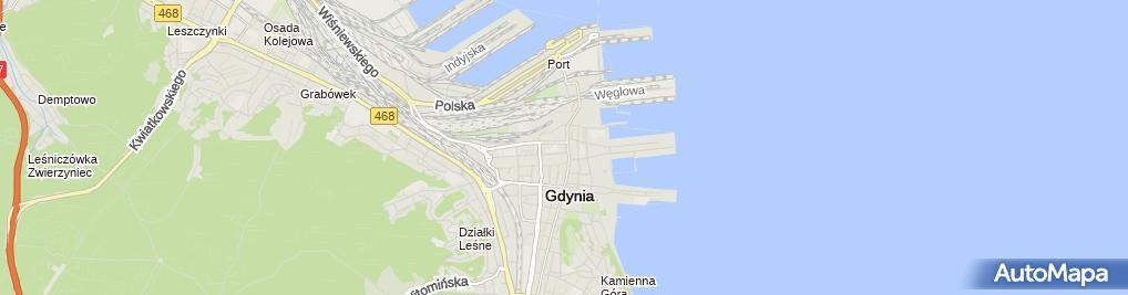 Zdjęcie satelitarne Indywidualna Specjalistyczna Praktyka Lekarska