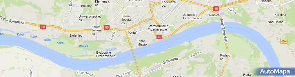 Zdjęcie satelitarne Info-Serwis GM Gnoza Marcin