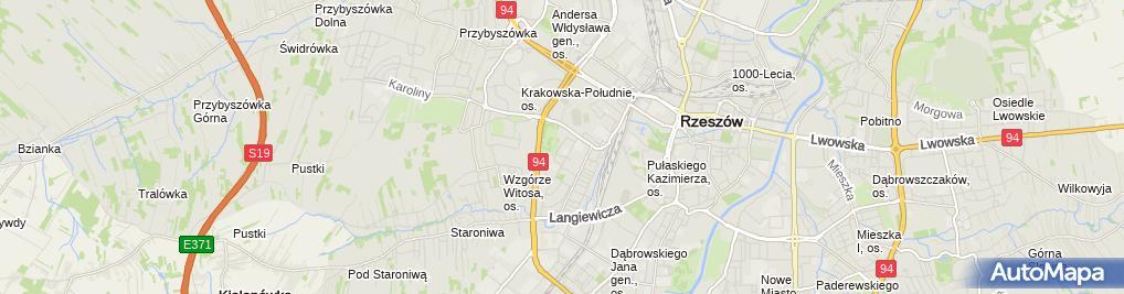 Zdjęcie satelitarne Innowacjesystemowe PL